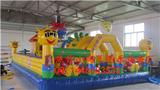 小淘气之花仙公主充气城堡儿童游乐