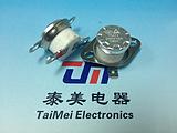 电木壳平角无环温控开关TM22弯角无环热敏开关
