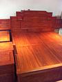 红木家具红木大床