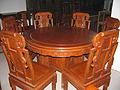 红木家具红木圆桌