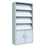 厂家直销 零售批发 双柱双用钢制书架 六层可定制