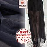 【厂家现货直销】韩国网网布 针织里布面料 经编涤纶网眼布