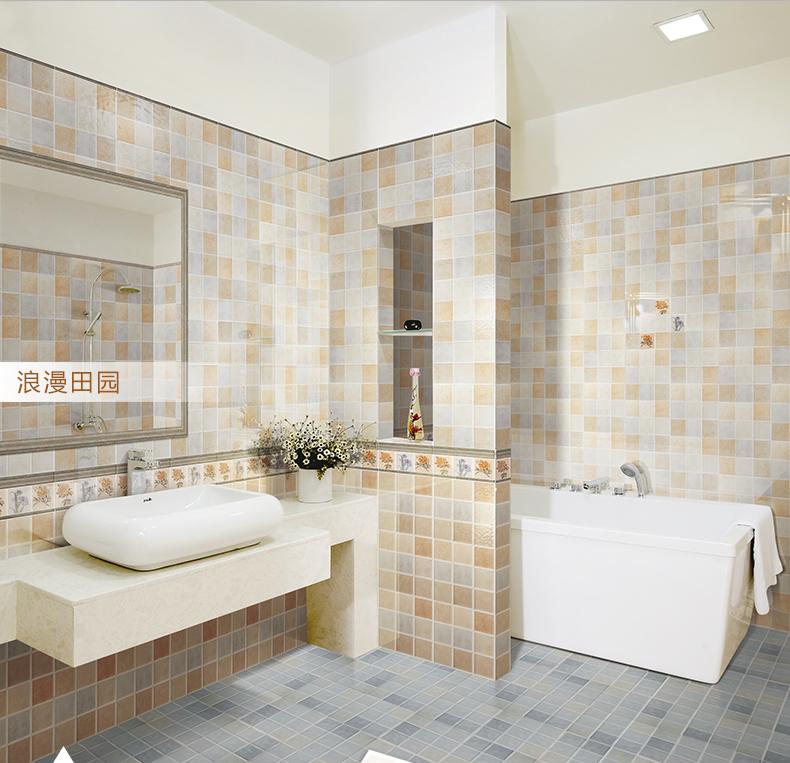 浴室装修瓷砖多少钱一平方?#21487;?#20250;一直在进步,时代一直在转变,人们的衣食起居也受?#35282;幣颇?#21270;的影响,浴室作为生活中不可划缺的一部分,单调的洗浴功能已经差强人意了,因此浴室的装修渐渐提上日程。由于浴室的特殊作用要求其兼具安全性和装饰性,那么作为浴室主要装修装饰材料的瓷砖怎样使其如沐春风,锦上添花呢?