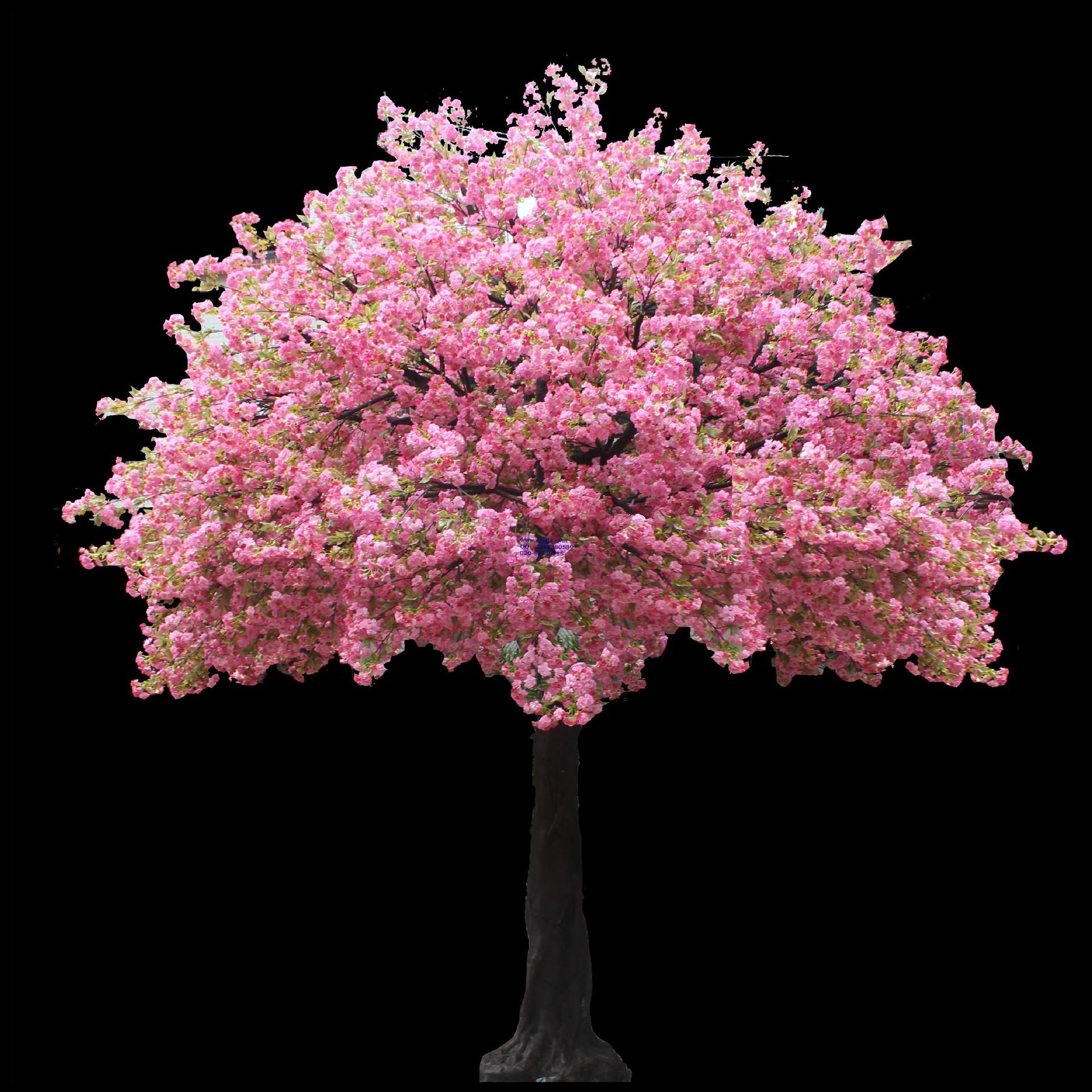 户外装饰仿真桃花树 时尚美观仿真桃花树枝
