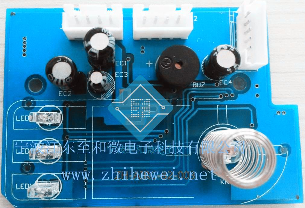 车载车内空气净化器控制板电路板线路设计开发及生产-宁波至和微电子