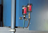 优质自动润滑器,染色机自动加脂器,输送线轴承自动数码注油器