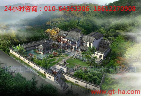 北京园林广场景观鸟瞰图设计制作园林景观鸟瞰图设计城市建筑鸟瞰图设