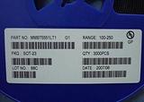 厂家供应MMBT5551 SOT-23贴片三极管(印记G1)