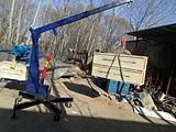 移动式小吊机吊沙机吊运机直滑式遥控小型吊运机小型吊机楼房上料机
