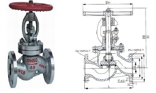燃气专用截止阀结构图