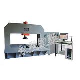 如何检测圆形井盖的抗压能力 济南永茂自主研发不锈钢井盖耐压试验机