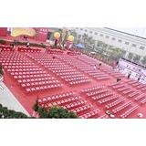 大量折叠椅出租,庆典桌椅佛山庆典公司,物料公司