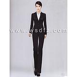 2015职业装女装套装裤西装长袖OL修身西服定做