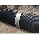 HDPE双平壁排水管图片