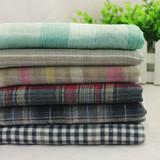 纯棉棉布双面色织布料