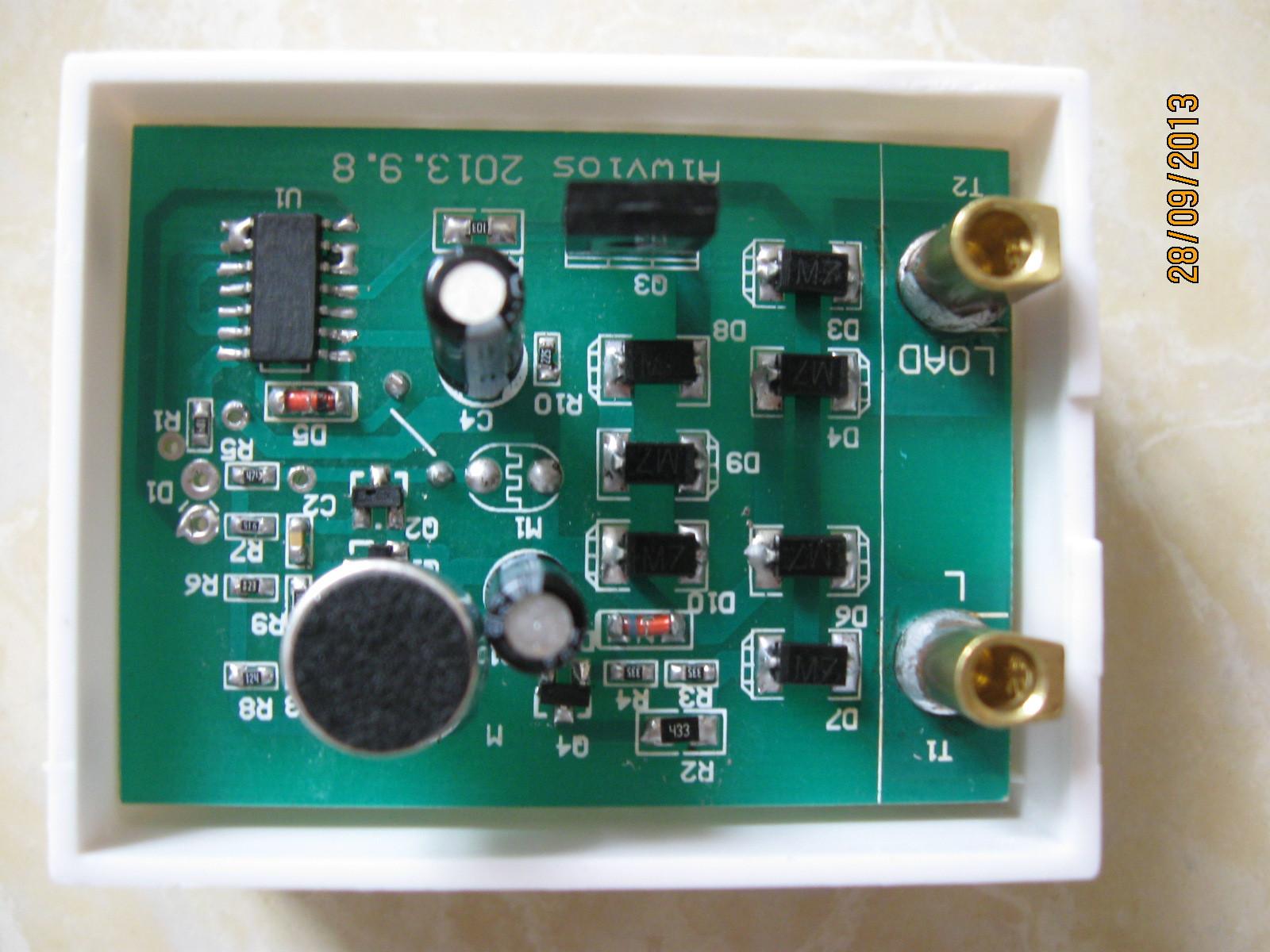 供应声光控感应开关电路板