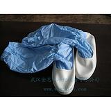厂家定做PU革长筒防静电洁净鞋