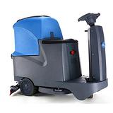大型工厂地面怎么清洗,凯德威小型洗地车,电瓶式洗地车T-70