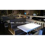 供应餐厅家具餐厅卡座沙发ZS-D233定做价格
