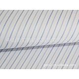 供應匯鑫 淺藍色條紋 襯衫面料 批發 中高檔 棉滌面料 T133