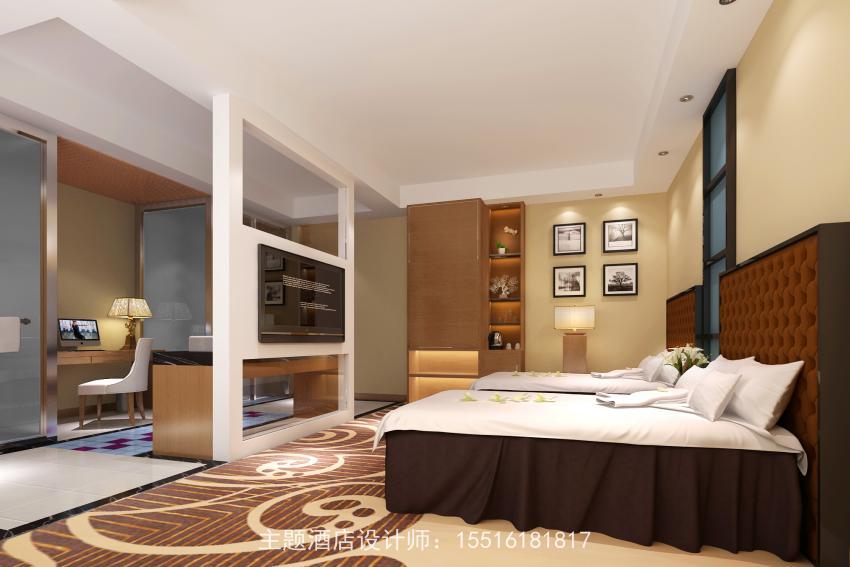 小型宾馆设计与布局