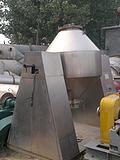 刚拆一批九成新5吨不锈钢双锥回转真空干燥机设备处理