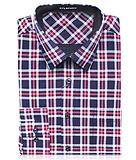 2015秋冬新款戈勞恪斯襯衫 純棉紅黑格長袖正品男裝上衣