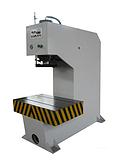 专业压制电子产品成型机/200吨单臂校正液压机压装电脑机壳