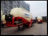 高效轻体40-50立方的散装水泥罐车 粉粒物料运输车