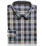 戈勞恪斯男裝 2015秋冬新款襯衫時尚格子襯衫 男式長袖襯衫