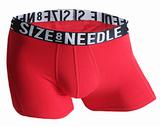 红白黑3.5CM提花织字全棉40支精梳