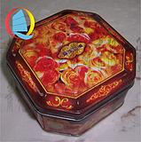 独立包装单个月饼罐|单个月饼包装罐|中秋节专用月饼铁罐