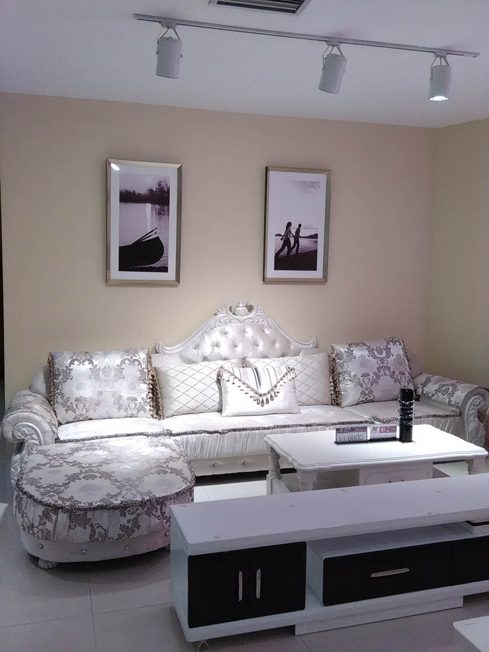 供应名者家居简欧布艺沙发881单位单+三位+单+贵妃位