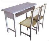 K40型双斗学生课桌椅、长期供应各类课桌椅及学生床