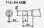 HAKKO T12烙铁头,HAKKO T12-D4烙铁头