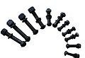 鱼尾螺栓--鱼尾栓,鱼尾螺丝,鱼尾丝 钢轨鱼尾板的连接螺丝