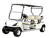 4座电动高尔夫车