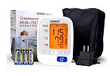 欧姆龙上臂式电子血压计HEM-7133 全智能操作背光灯设计