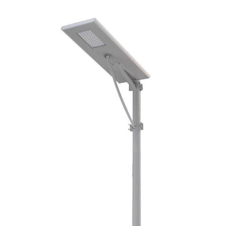 太阳能一体化路灯/庭院灯的设计吸收了来自宇的灵感和能量,融合了当今最佳绿色能源组合(太阳能;半导体LED光源;路灯专用电池)。它运用了微控制器,热红外线人体感应等多项优秀实用控制技术,结合简约的一体化结构设计,完美的实现低功耗高亮度(平均每5W功耗可达100W白炽灯的照度),长寿命免维护,优异的防水散热性能等多种性能要求,同时安装非常快捷方便。是本公司最具贡献力和创造性的专利产品之一。 太阳能一体化庭院灯参数说明  太阳能一体化庭院灯照度图  太阳能一体化庭院灯应用实景图  太阳能一体化庭院灯安装图