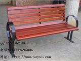 【厂家直销】户外钢木休闲椅 商业街休闲椅  无靠背休闲椅 公园椅