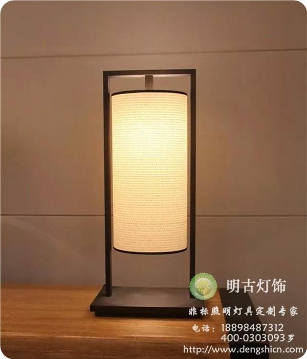 客房床头台灯,新中式风格台灯