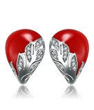 厂家直销 品牌银饰批发 925纯银时尚简约明星同款耳钉