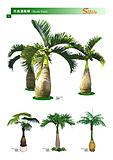 供应仿真椰子树苗价格仿真树要求