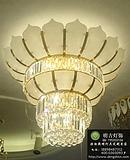 云石工程吊灯,酒店云石吊灯,非标云石灯具定制,欧式云石吊灯设计