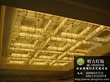 云石工程吸顶灯,大堂云石工程灯,非标云石灯具定制,酒店云石灯设计