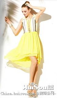 折扣女装品牌连衣裙 卡熙名品夏季折扣女装的批发