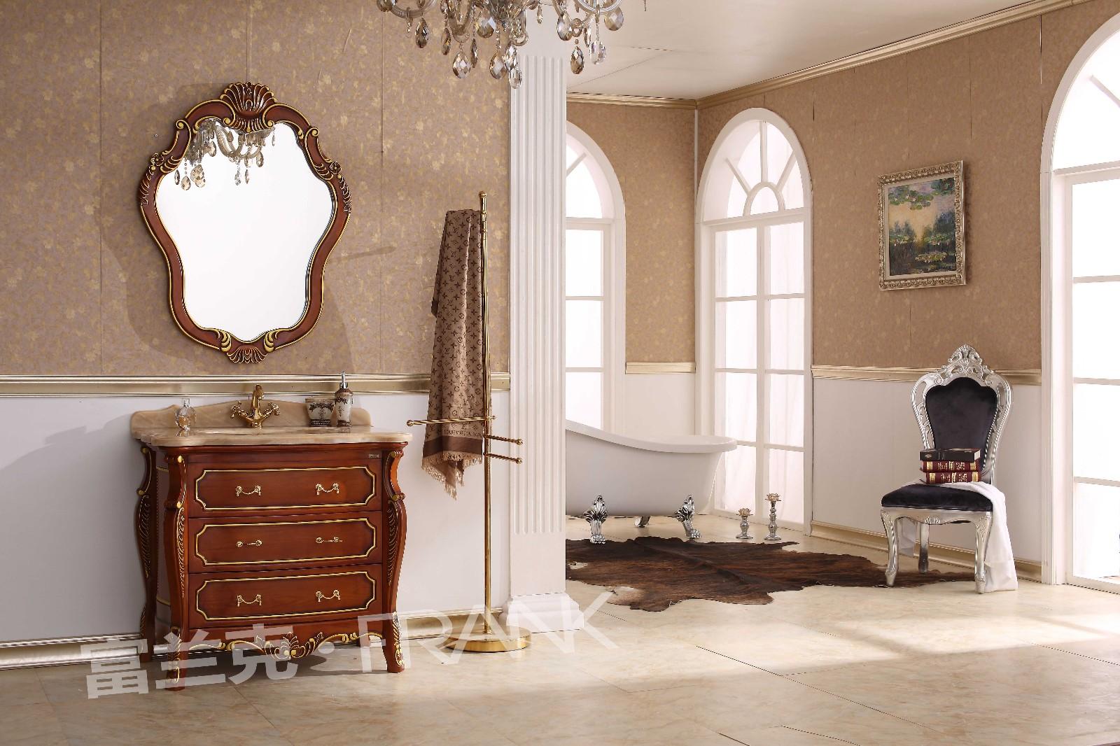 浴室柜价格_富兰克欧式浴室柜f-5113j批发价格