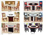 苏州酒店桌椅苏州酒店餐厅家具 苏州餐桌餐椅餐台苏州电动圆台等套房