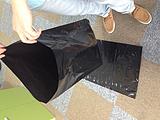 厂家供应黑色避光、不透光线塑料袋