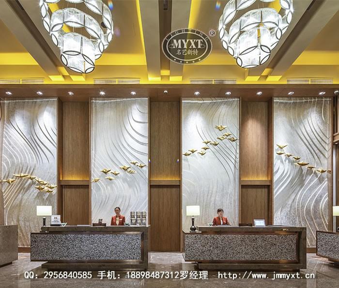 酒店灯具定制设计安装服务  完工项目:青岛香格里拉大饭店,广东惠州碧